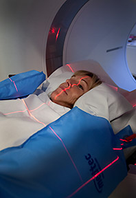 Patient mri machine