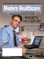 Medical magazine cover photography